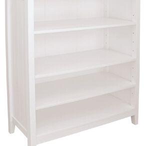 Living & Co Glacier 4 Tier Bookcase White