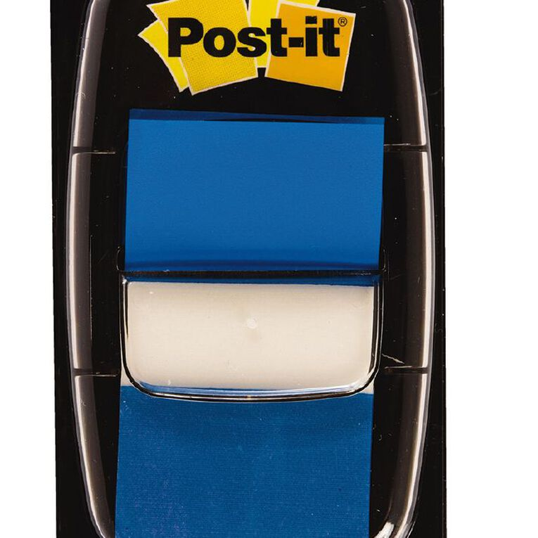 Post-It Flags 2 Pack Blue, , hi-res