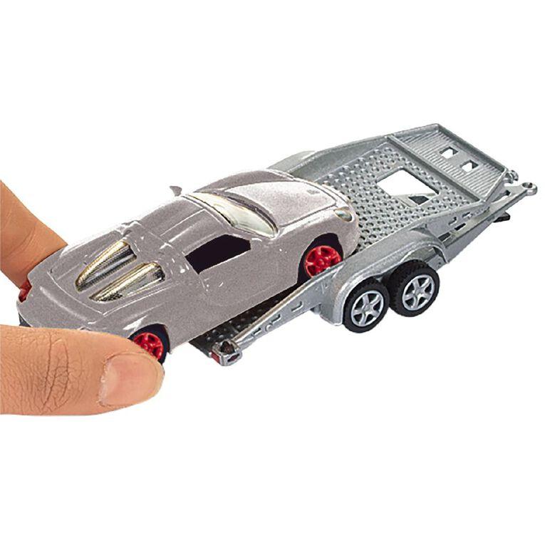 Siku 1:55 Porsche with Trailer & Carrera GT, , hi-res