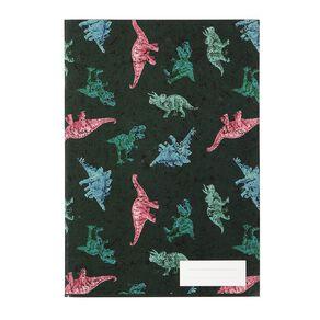 Kookie Bright  Notebook Dino Green Dark A5
