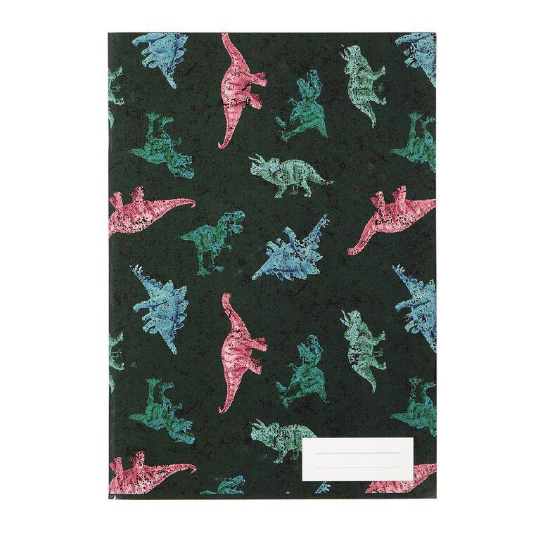 Kookie Bright  Notebook Dino Green Dark A5, , hi-res