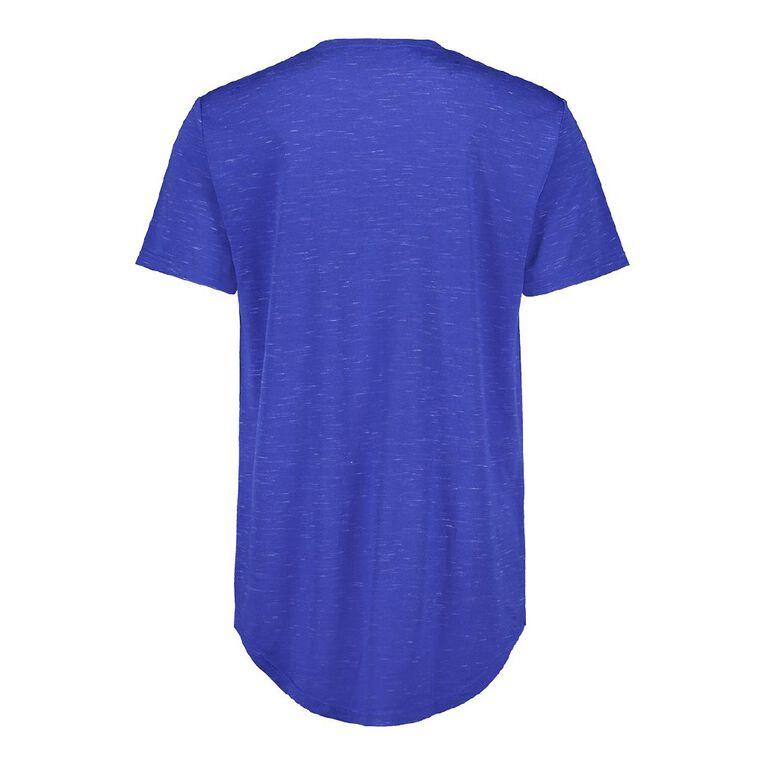 Garage Men's Crew Neck Short Sleeve Space Dye Tee, Blue, hi-res