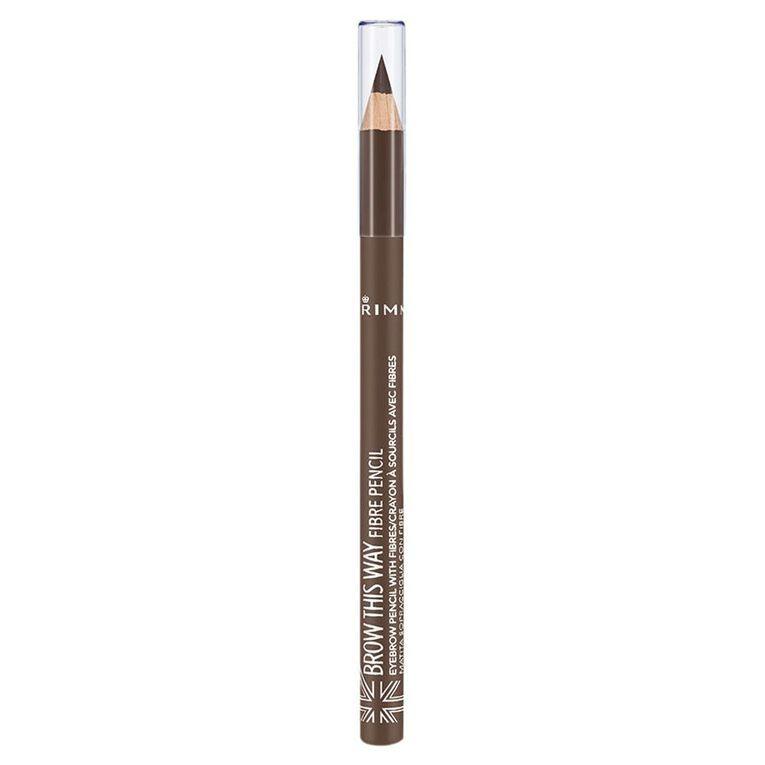 Rimmel Brow This Way Fibre Pencil Brown, , hi-res