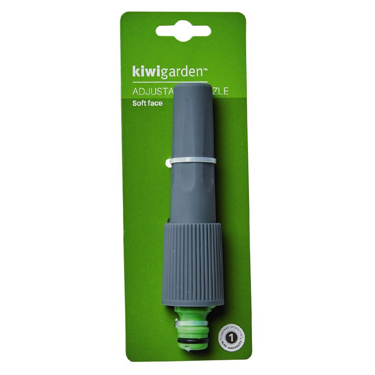 Kiwi Garden Adjustable Nozzle Grey, , hi-res