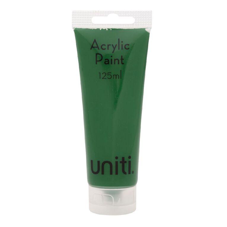 Uniti Acrylic Tube Green 125ml, , hi-res