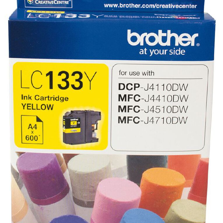 Brother Ink LC133 Yellow (600 Pages), , hi-res
