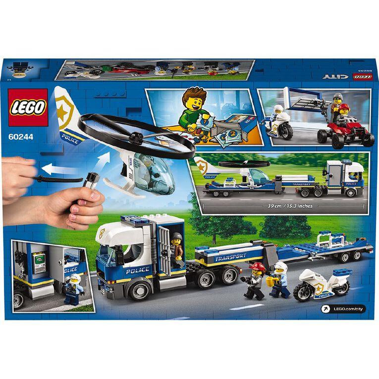 LEGO City Police Helicopter Transport 60244, , hi-res