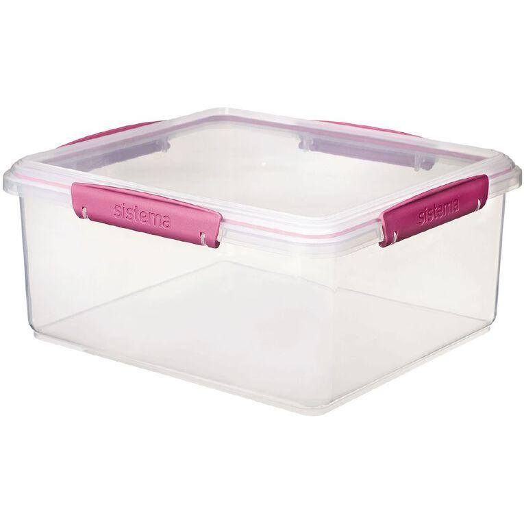 Sistema Klip it Rectangular Container Jewel Tone Assorted 5L, , hi-res
