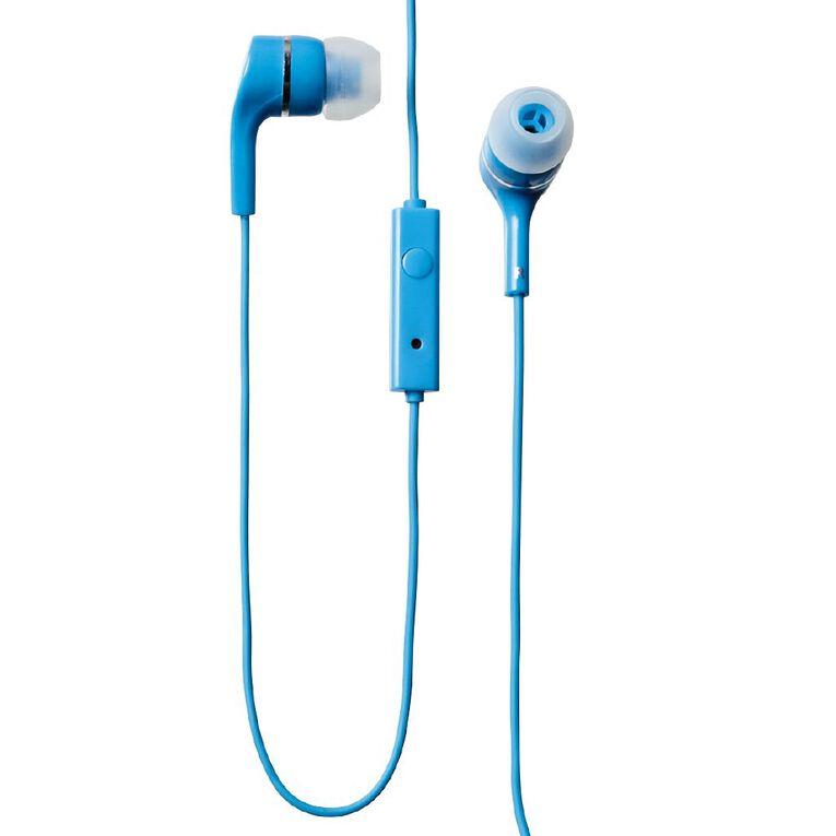 Tech.Inc Earbuds Neon Blue, , hi-res