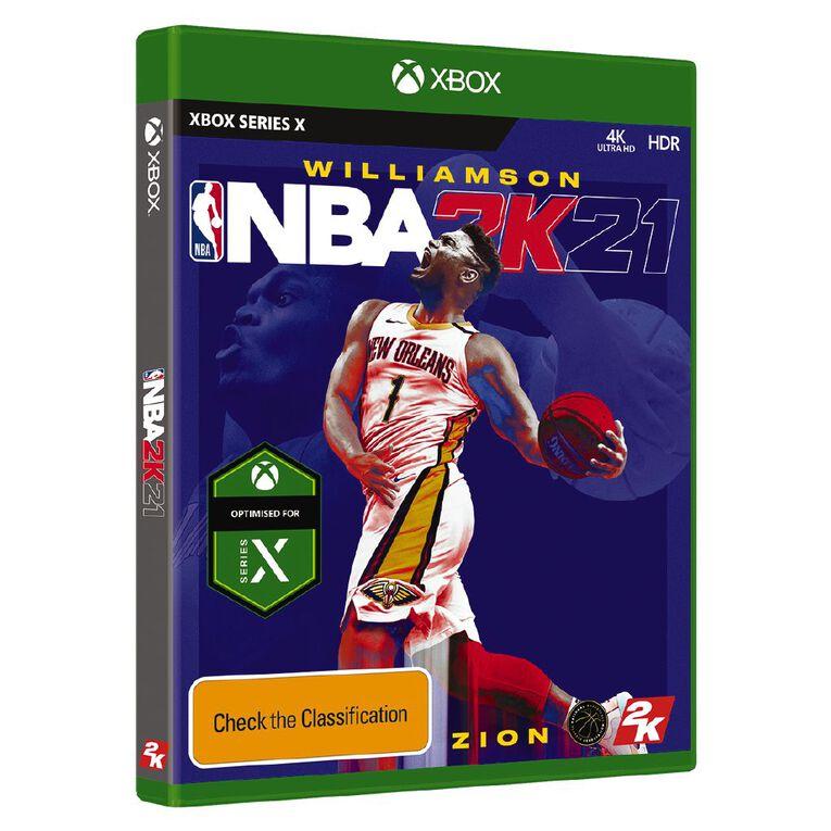 Xbox Series X NBA 2K21, , hi-res