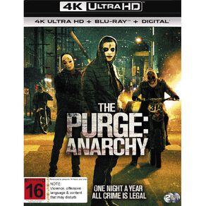 The Purge: Anarchy 4K Blu-ray 2Disc