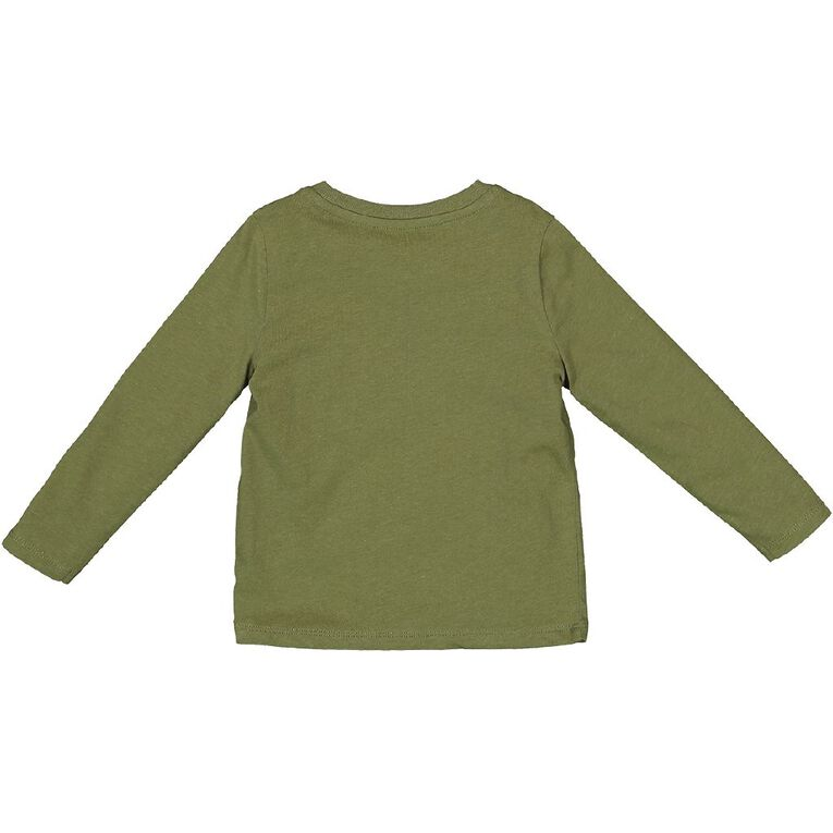 Young Original Toddler 2 Pack Long Sleeve Tees, Green Dark, hi-res