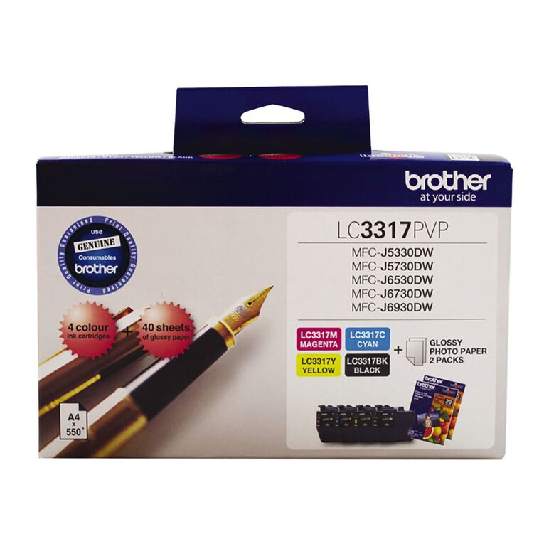 Brother Ink LC3317 Photo Value Pack (550 pages), , hi-res