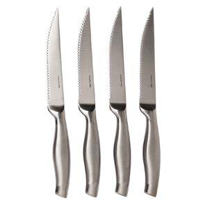 Living & Co Steak Knife Set Stainless Steel 4 Pack
