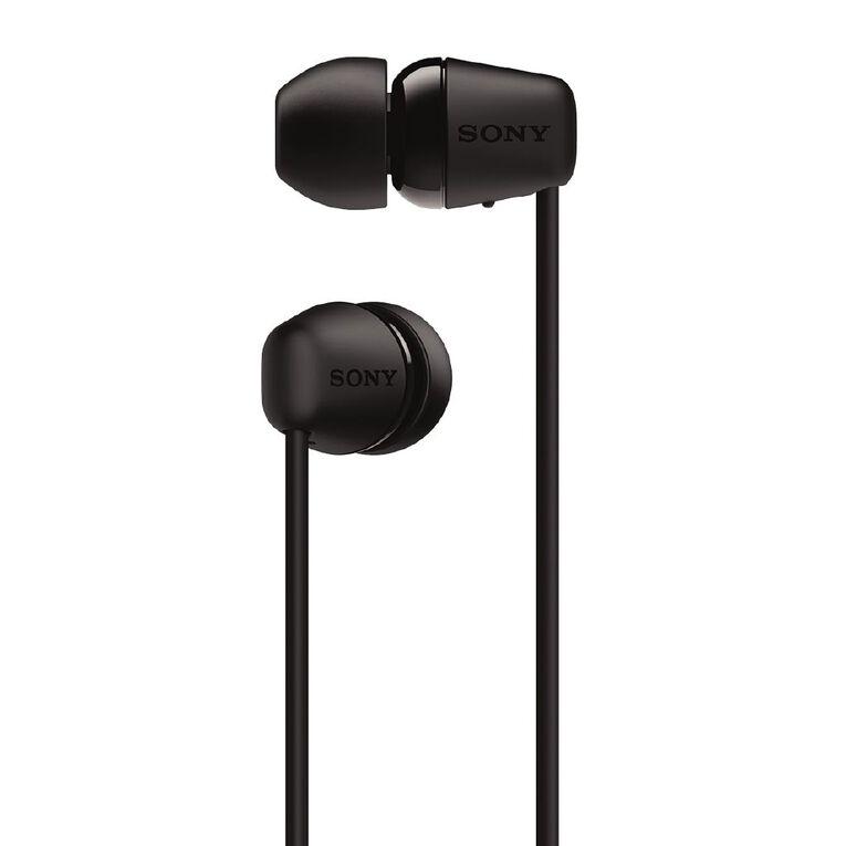 Sony Wireless In-Ear Headphones WI-C200 Black, , hi-res