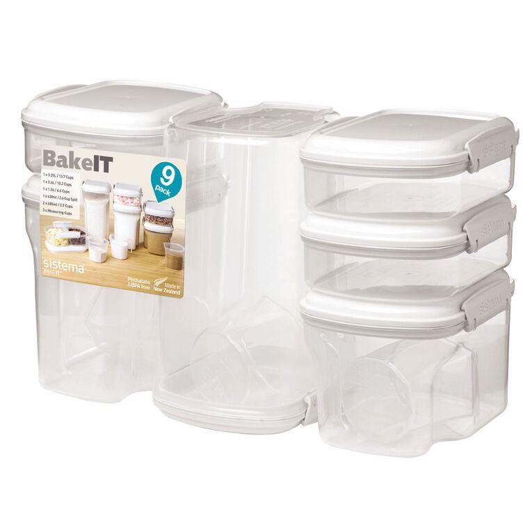 Sistema Bake It Cream 9 Pack, , hi-res