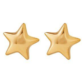 9ct Gold Star Stud Earrings