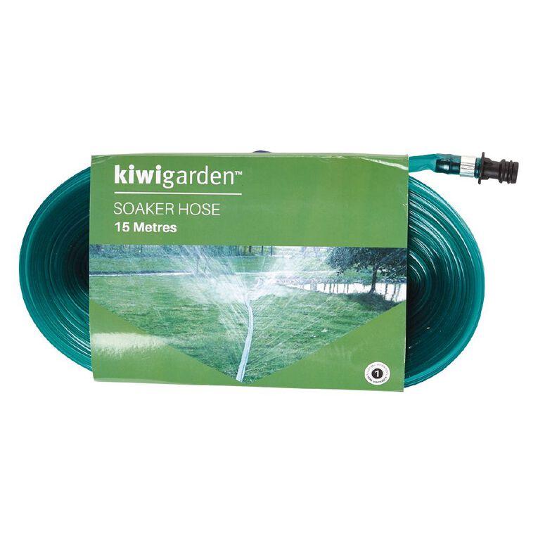 Kiwi Garden Soaker Hose 15m, , hi-res