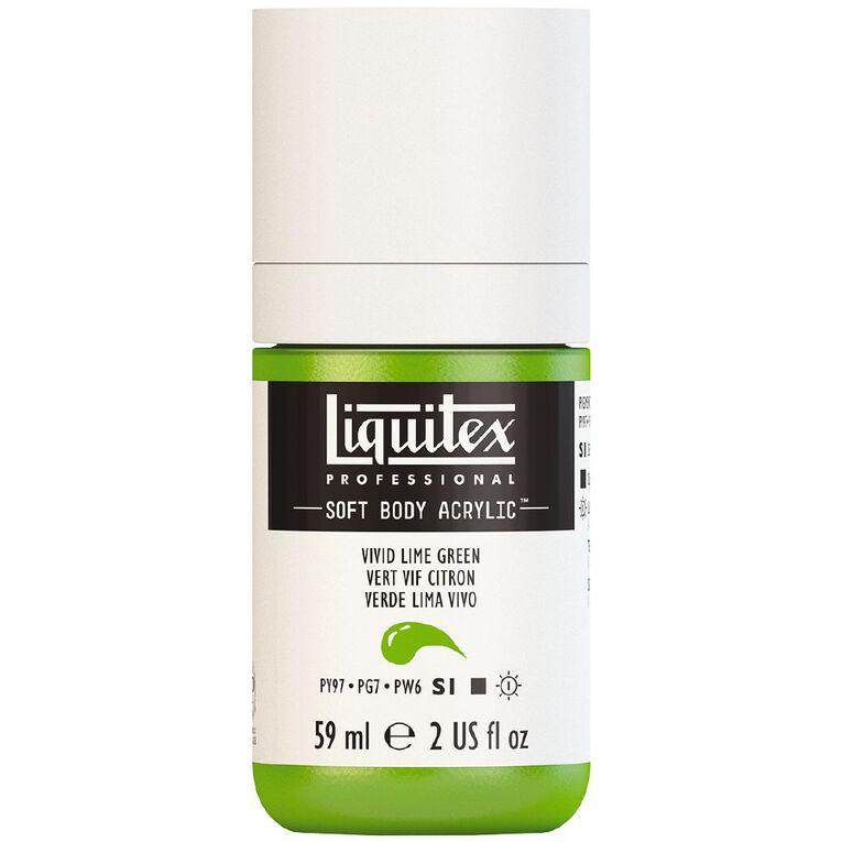 Liquitex Soft Body Acrylic 59ml Vivid Lime Green S1, , hi-res