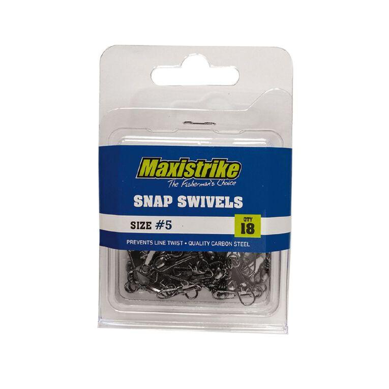 Maxistrike 5 Snap Swivels 18 Pack, , hi-res
