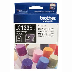 Brother Ink LC133 Black (600 Pages)