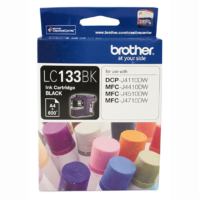 Brother Ink LC133 Black (600 Pages), , hi-res