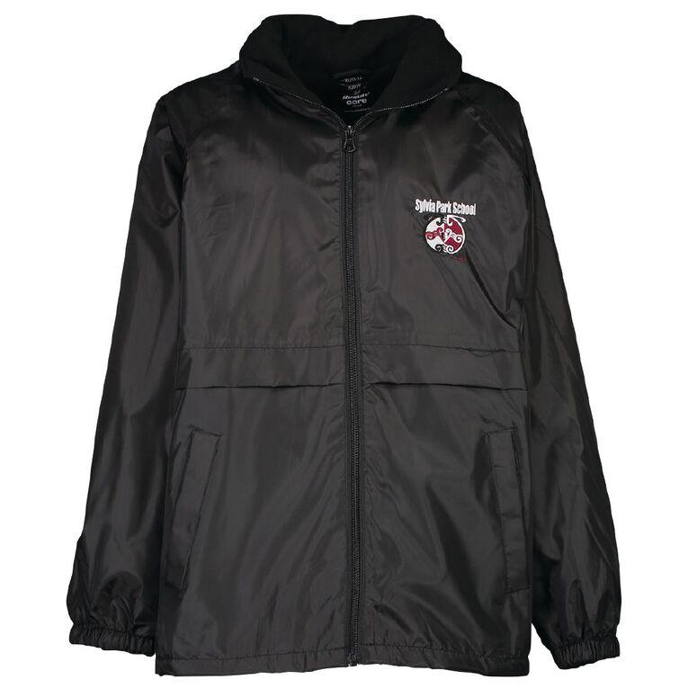 Schooltex Sylvia Park School Dri Jacket with Embroidery, Black, hi-res