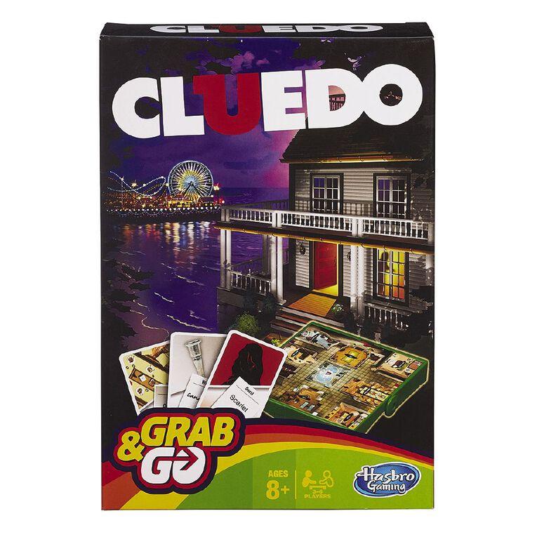 Cluedo Grab & Go Game, , hi-res