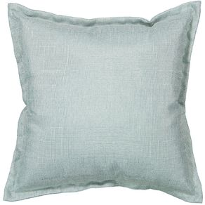 Living & Co Slub Cushion Aqua 38cm x 38cm