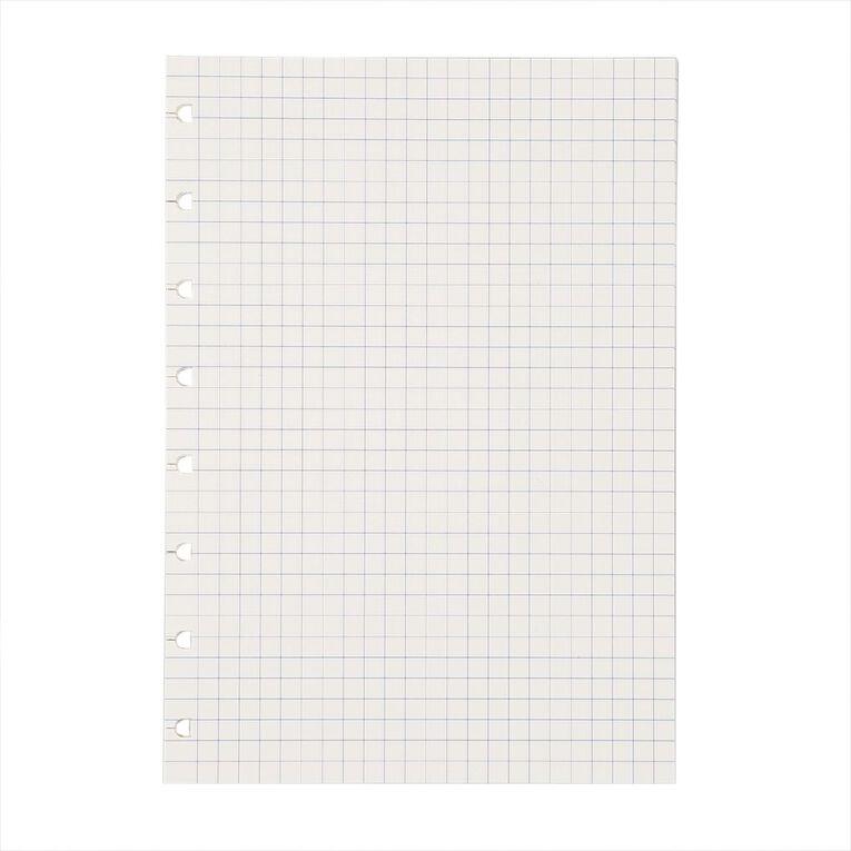 Filofax Notes White Grid Pattern 32 Sheet A5, , hi-res
