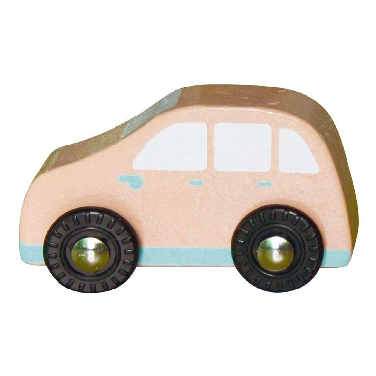 Play Studio Mini Wooden Vehicle Red Car, , hi-res