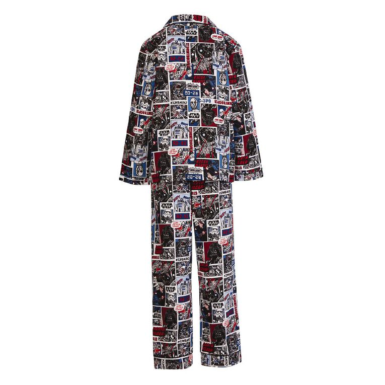 Star Wars Kids' Flannelette Pyjamas, Black, hi-res