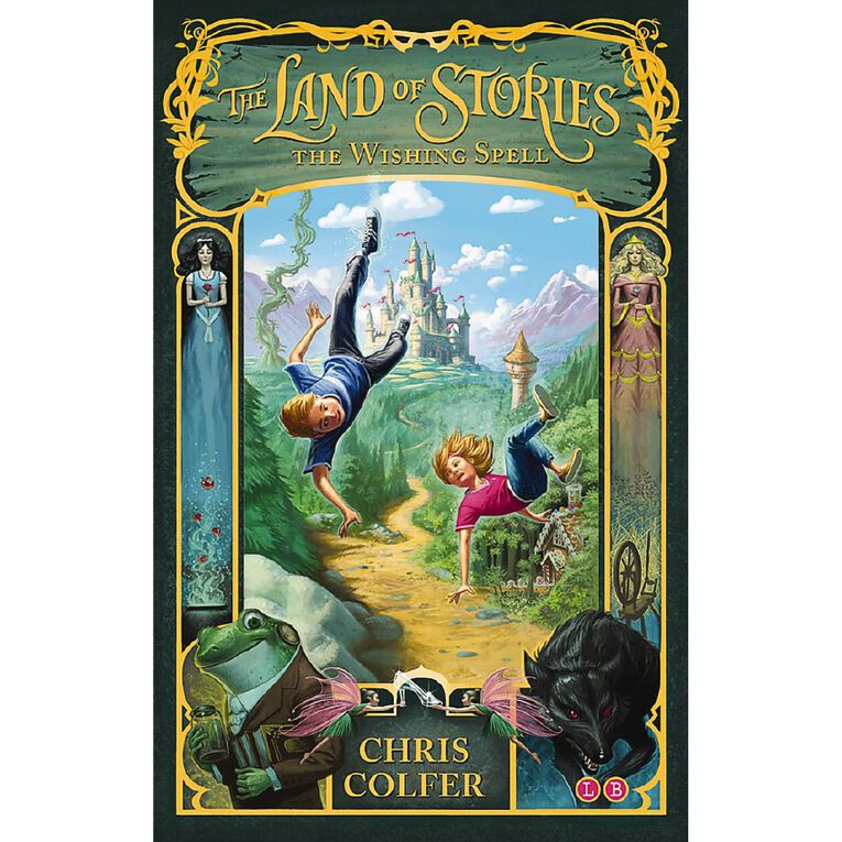 Land of Stories #1 Wishing Spell by Chris Colfer, , hi-res