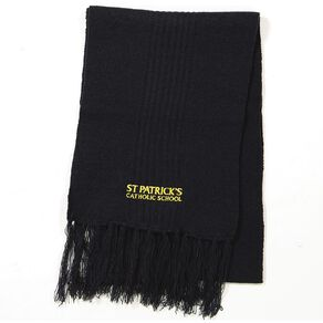 Schooltex St Patricks Scarf with Embroidery