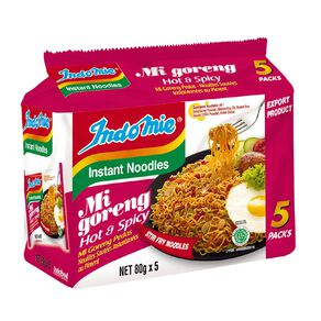 Indomie Mi Goreng Hot & Spicy 5 Pack
