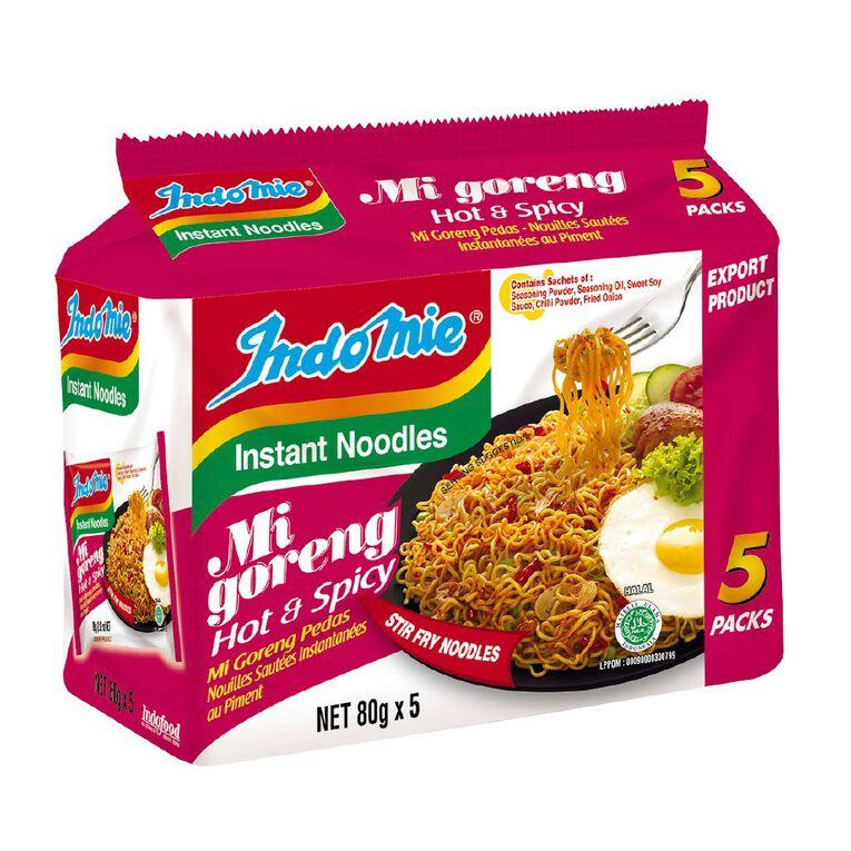 Indomie Mi Goreng Hot & Spicy 5 Pack, , hi-res