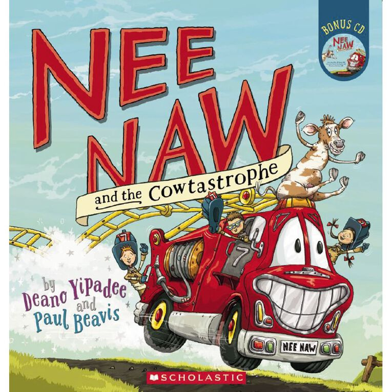 Nee Naw and the Cowtastrophe by Deano Yipadee, , hi-res