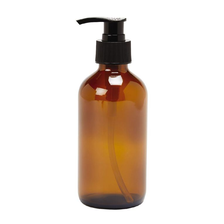 Living & Co Glass Cleaning Pump Bottles Flame 240ml Gold, , hi-res
