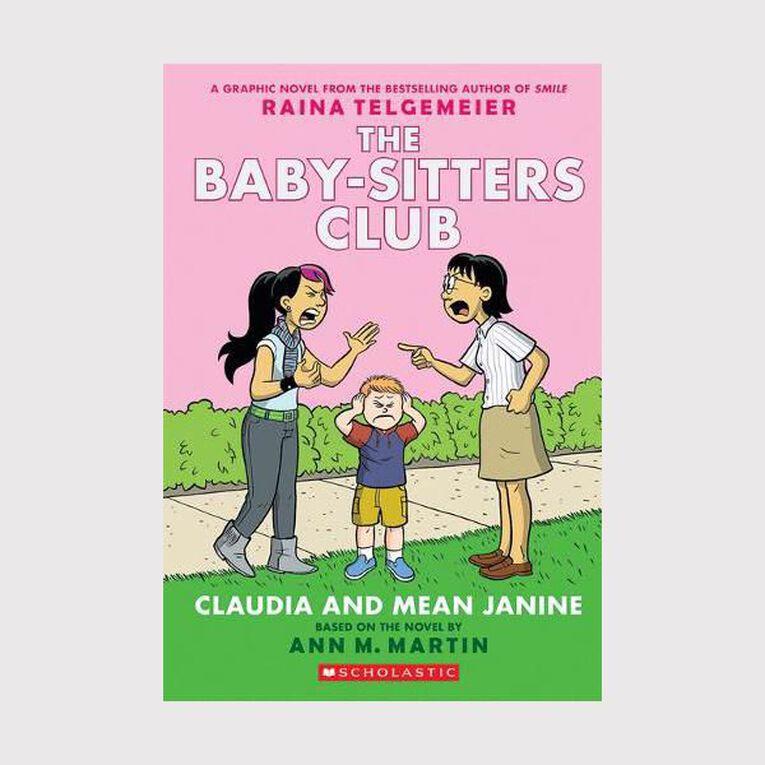 Baby-Sitters Club Graphix #4 Claudia & Mean Janine by Raina Telgemeier, , hi-res