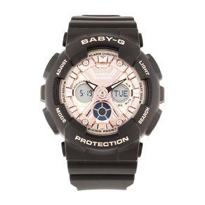 Casio Baby-G Ana-Digital Black & Rose Watch