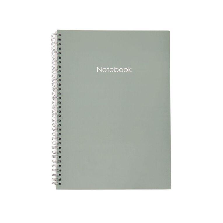 Uniti Colour Pop Notebook Softcover Green Light A4, , hi-res