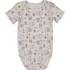 Young Original Baby Short Sleeve Printed Bodysuit