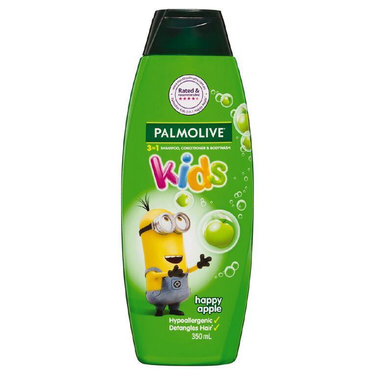 Palmolive Kids 3-in-1 Happy Apple 350ml, , hi-res