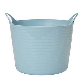 Living & Co Round Flexi Tub Blue 16L