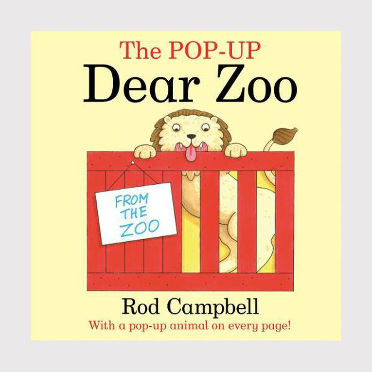 The Pop-Up Dear Zoo by Rod Campbell N/A, , hi-res