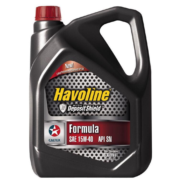 Caltex Havoline Formula Oil 15W-40 4L, , hi-res