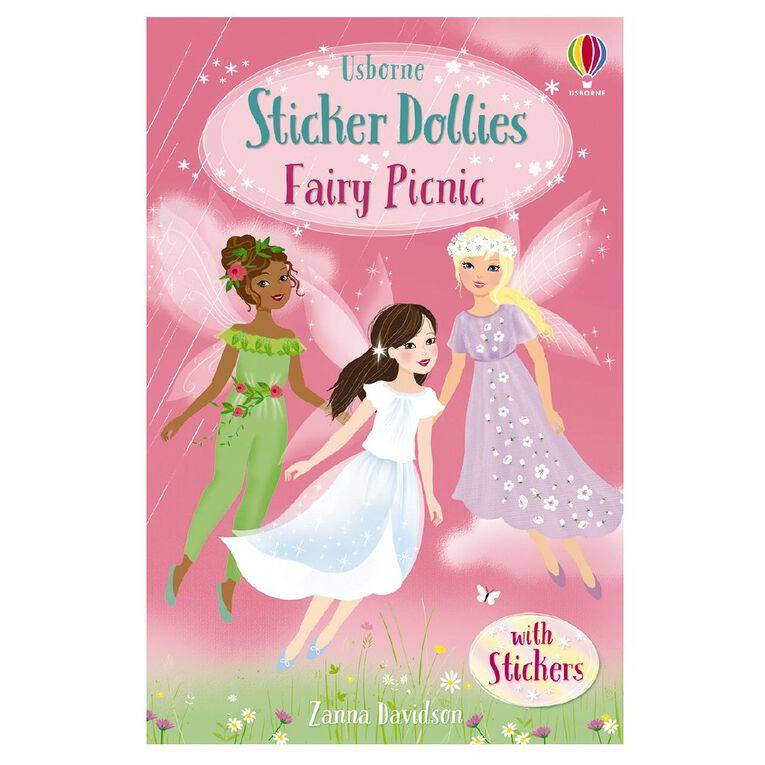 Sticker Dolly Stories #2 Fairy Picnic by Zanna Davidson, , hi-res