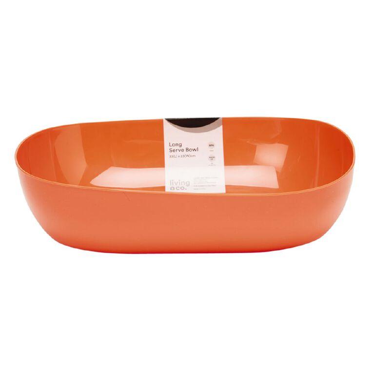 Living & Co Picnic Serve Long Bowl Red, , hi-res