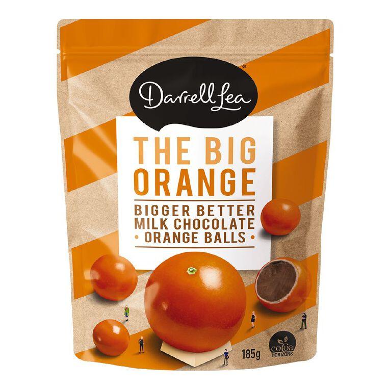 Darrell Lea BB's Choc Orange Balls 185g, , hi-res