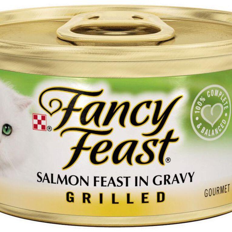 Fancy Feast Grilled Salmon Feast 85g, , hi-res